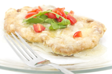 Schnitzel with Butter Sauce