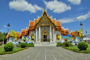 Wat Benchamabophit,The Marble Temple , Bangkok, Thailand