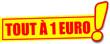 étiquette tout à 1 euro