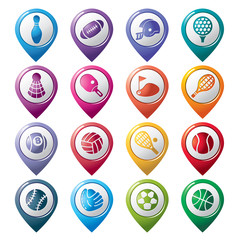 Sport Pointer Icons