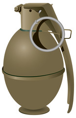 Military Hand Grenade