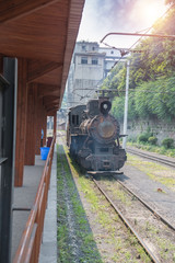 narrow gauge railway,China's Sichuan province.