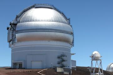 Mauna Kea Observatories on Big Island of Hawaii