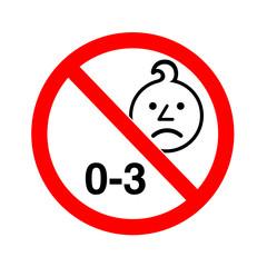 0-3 yaş uyarısı