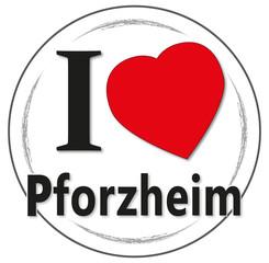 I love Pforzheim