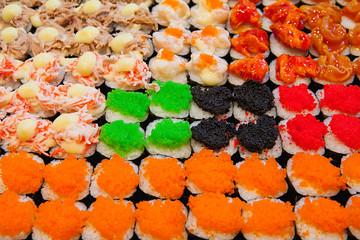 Caviar  sushi