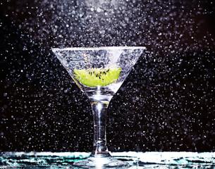 alcohol fresh cocktail kiwi green