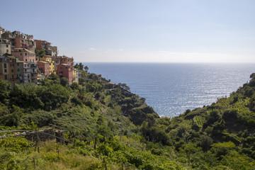 Village of Cornigla, at Cinque Terre, Italy