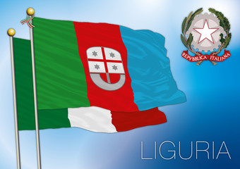 liguria regional flag