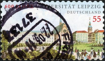 600th anniversary of the University of Leipzig