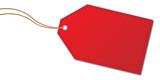 Anhänger rot