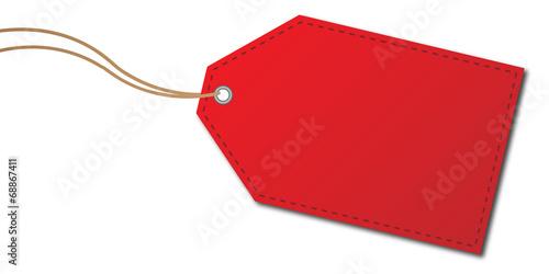 Anhänger rot - 68867411