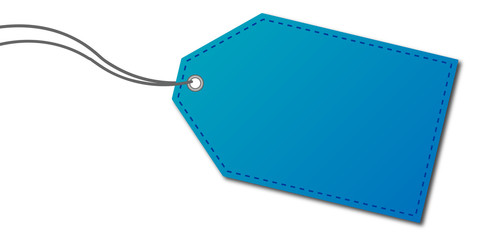 Anhänger blau