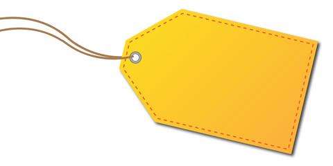 Anhänger gelb