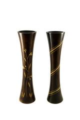 Деревянные вазы