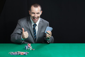 Man Wins Gets Rich at Blackjack
