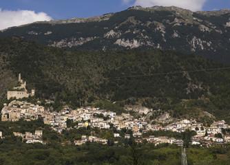 Tipico villaggio abruzzese