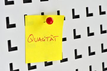 Qualität, Güte, Qualitätsmanagement, Audit, Qualitätssicherung
