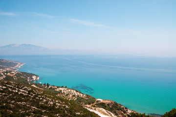 View from island Zakynthos