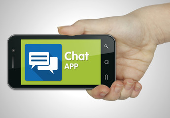 Chat app, Mobile