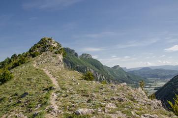 Gipfel bei La Motte du Caire