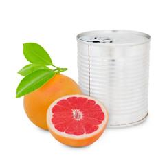 Grapefruit can