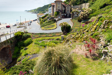 Ventnor botanic garden Isle of Wight tourist town