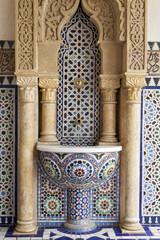 orientalischer Gebäudeteil