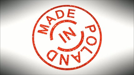 Stempel Made in Poland