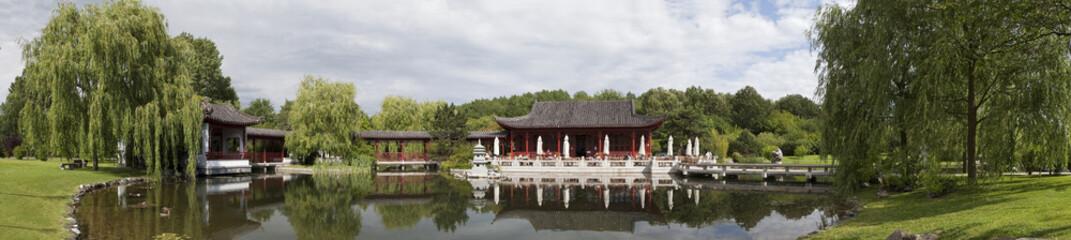 chinesischer Garten Panorama