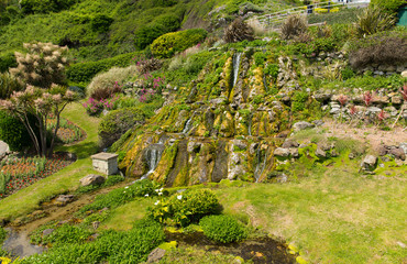 Botanic garden Ventnor Isle of Wight tourist town