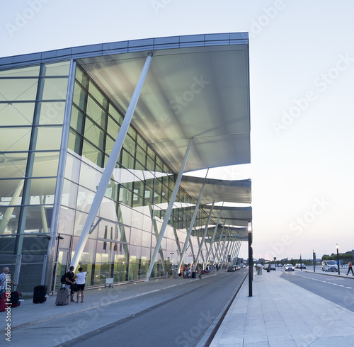 Modern Wroclaw airport terminal in Poland - 68871811