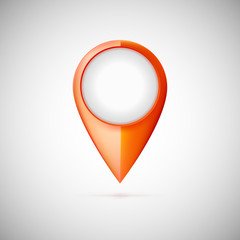 Map pointer icon.