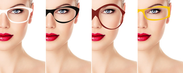 Collection of stylish spectacles frames.