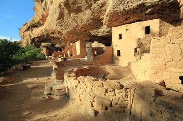 Spruce Tree House in Mesa Verde, Colorado, United States