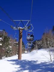 スキー場(ゲレンデ)リフトのイメージ