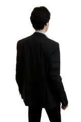 business man from the back