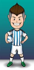 Argentina soccer boy