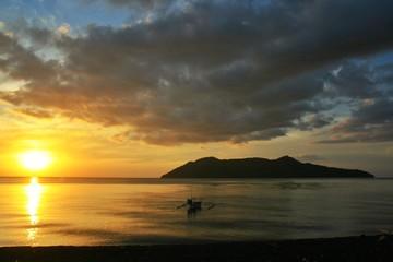 Sunset at Satonda Island