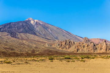 Teide volcano from Ucanca valley