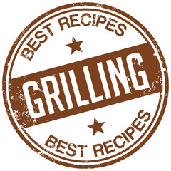 grilling recipes stamp