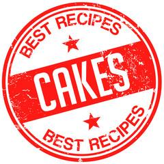 cake recipes stamp
