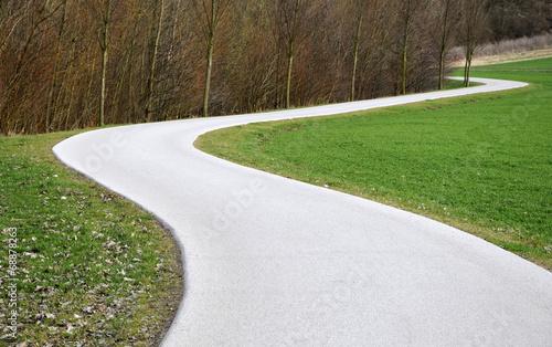 canvas print picture Geschlängelter Weg