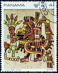 "Detail from the ""Codex Nutall"" (Panama 1968)"