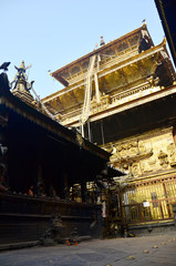 Golden Temple or Hiranya Varna Mahavihar in Patan