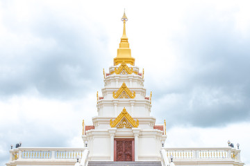 Golden and white temple