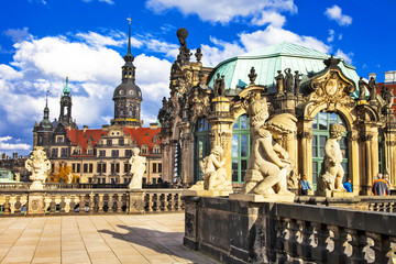 beautiful elegant Dresden, Zwinger museum