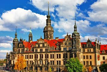 beautiful elegant Dresden, Germany