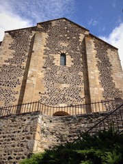 la chiesa di Saint Saturnin - Auvergne, Francia