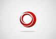 Business Abstract Circle icon. Corporate, Media, Technology